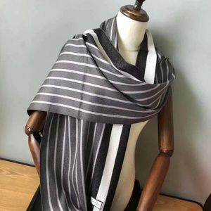 black white Color phase scarf